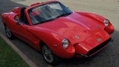 מכונית העשוייה מ-100% המפ