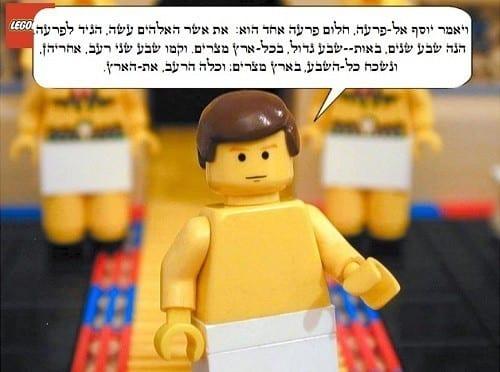 פרשת מקץ - יוסף מפרש לפרעה את החלום