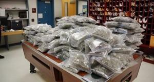 """50 ק""""ג של מריחואנה שנגנבו מחדר ראיות משרד השריף בעיר טנהא בטקסס, ארה""""ב"""