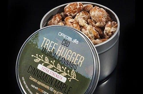 מאכל ה-CBD הטוב ביותר - עוגיות מייפל וקינמון 'Maple Tree Hugger'