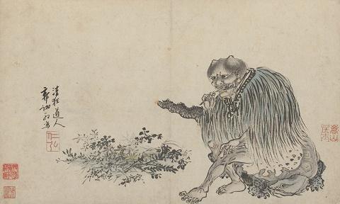 """הקיסר הסיני שננונג - ציור משנת 1500 לפנה""""ס"""