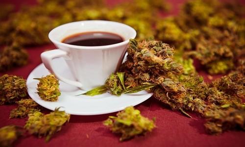קפה קנאביס חזק ומרוכז