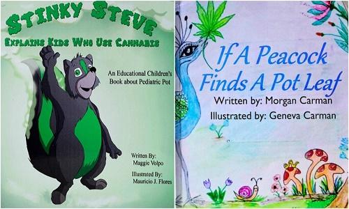 שני ספרי ילדים בנושא קנאביס