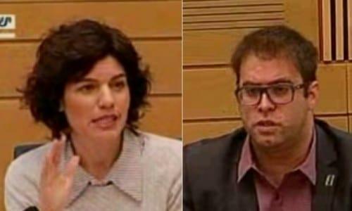 אורן חזן תמר זנדברג - ועדת הסמים