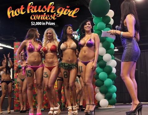 קנאביס - כנסים מקצועיים בלאס וגאס (תחרות יופי)