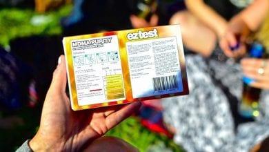 Un kit di prova per la qualità della droga