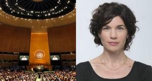 """תמר זנדברג - אולם הכנסים של האו""""ם"""