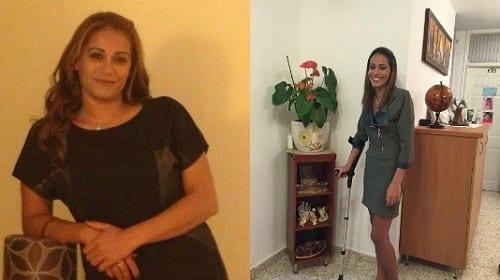 עינב מוגרבי - לפני ואחרי 18 חודשים של טיפול במשככי כאבים