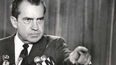 """ריצ'רד ניקסון נשיא ארה""""ב"""