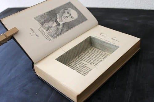 החבאה בתור ספר מוכרת בעיקר מסרטי מתח, אך היא עובדת מצוין גם במציאות (10 דרכים להחביא את החומר לפני חיפוש משטרתי)