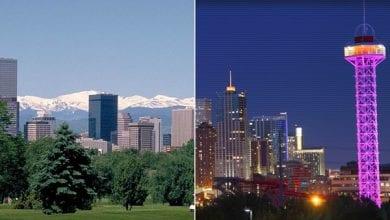 "Photo of קולורדו במקום הראשון ברשימת ""100 הערים השוות למגורים"""