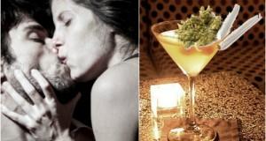 סקס תחת השפעת אלכוהול או תחת השפעת מריחואנה - השוואה בין הסדינים