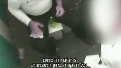 Photo of תיעוד: נהג קטר נתפס מעשן קנאביס ברכבת