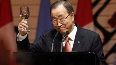 """מזכ""""ל האו""""ם באן קי-מון"""