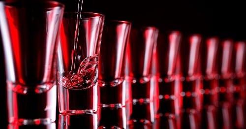 מנת יתר של אלכוהול - 13 שוטים בלבד