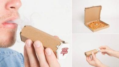 Photo of מגש פיצה שיכול להפוך למקטרת