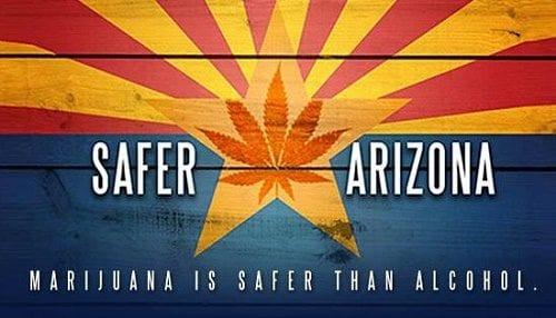קמפיין ללגליזציה באריזונה - קנאביס בטוח יותר מאלכוהול