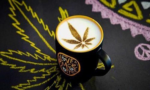 קפה וקנאביס - ערבוב עם השפעות