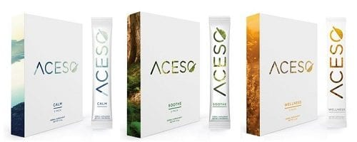 סדרת אבקות הקנבינואידים  ACESO - קנאביס בעולם תוספי התזונה