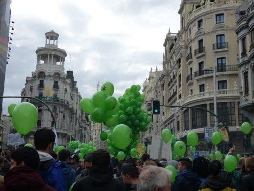 מצעד הקנאביס הבינלאומי מדריד 2016