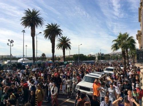 מצעד הקנאביס הבינלאומי קייפ טאון 2016