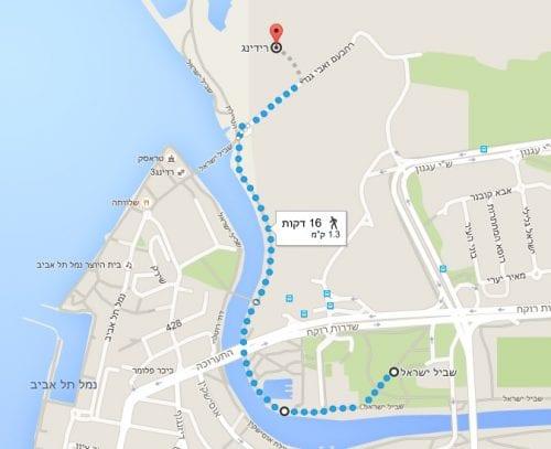 הצעדה תחל בגן הבנים, תימשך לאורך הירקון ותסתיים בנמל רידינג