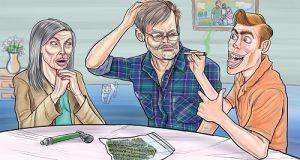 איך לספר להורים שאתם מעשנים מריחואנה