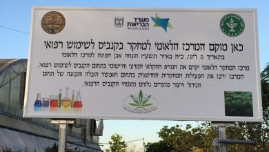 "Photo of לראשונה בישראל: ""המרכז הלאומי למחקר קנאביס"" נפתח במכון וולקני"