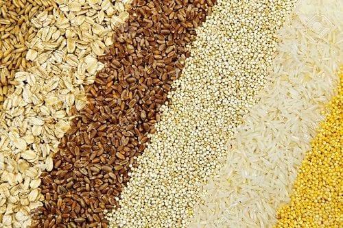 """דגנים מלאים (אורז, חיטה, קוואקר) - מקור טבעי מצוין לויטמין B1 (מתוך: """"5 תרופות סבתא נגד """"סאטלה רעה"""" של קנאביס"""")"""