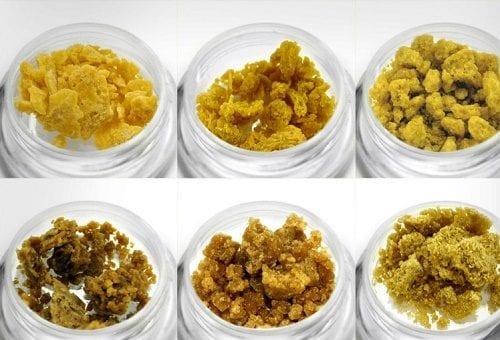 """סוכר, """"שאטר"""", חמאה אבקה וקריסטלים - מיצויי קנאביס בריכוז גבוה"""