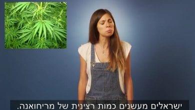 Photo of איך נראים צרכני קנאביס ישראליים בעיניה של צעירה קנדית