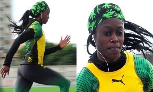 אליין תומפסון והבנדנה - ריצת 100 מ' נשים, אולימפיאדת ריו 2016