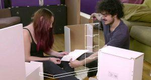 בונים רהיט IKEA תחת השפעת סמים