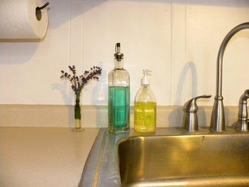 סבון כלים ושמן לבישול - מגני המטבח וחדר הגידול