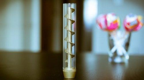 בלאנט זכוכית מבוסס הברגה - עוברים לעשן נקי ומהר