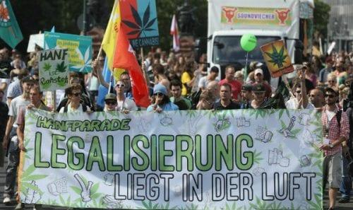 הפגנת לגליזציה ברלין 2016