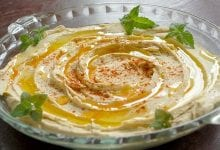 Hummus with Cannabis oil
