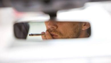 עישון קנאביס בעת הנהיגה (נהיגה תחת ההשפעה)
