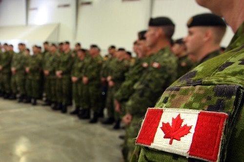 חיילים ויוצאי צבא, בקנדה