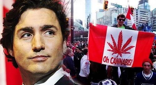 ג'סטין טרודו - ראש ממשלת קנדה ומביא הלגליזציה