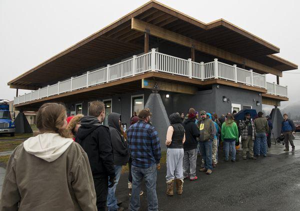 חנות קנאביס ראשונה במדינת אלסקה