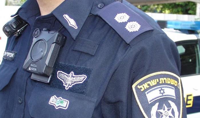 מצלמות מדים משטרה ישראל