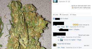 סוחרי מריחואנה בפייסבוק