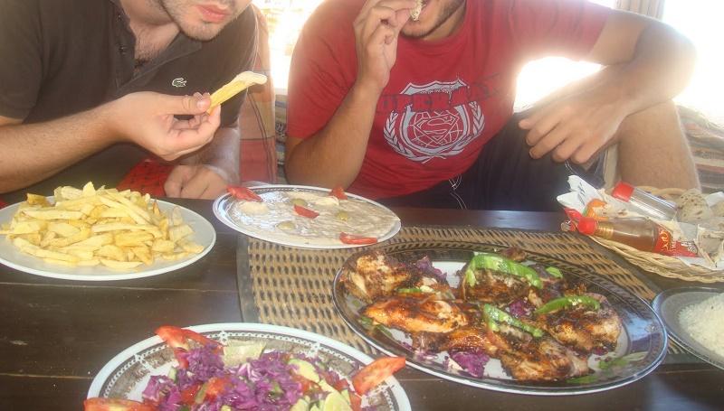 الطعام في سيناء ممتاز