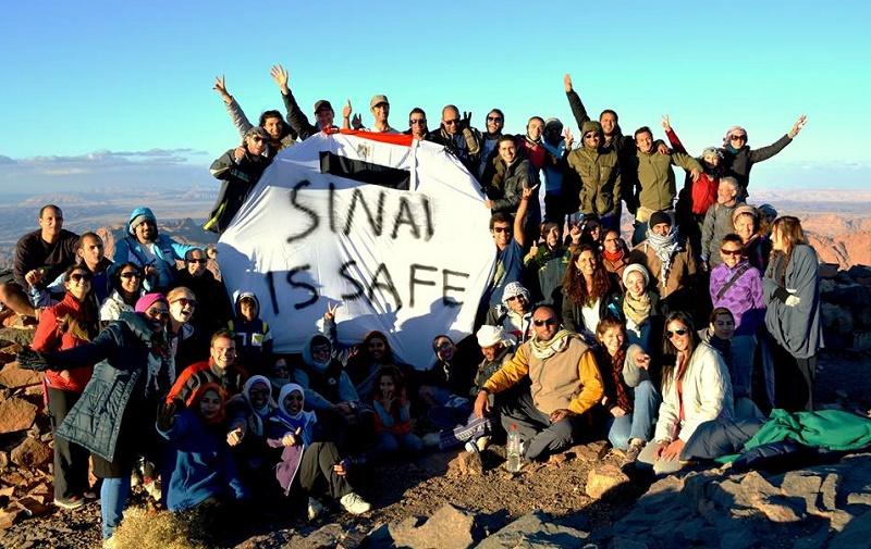 سيناء آمنة وقريبة