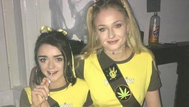 Photo of סאנסה ואריה סטארק התחפשו לעוגיות מריחואנה
