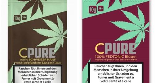 תחליף טבק עשוי קנאביס CPURE