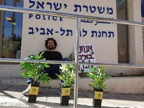 הסגירו עצמם למשטרה: אנחנו מעשנים קנאביס