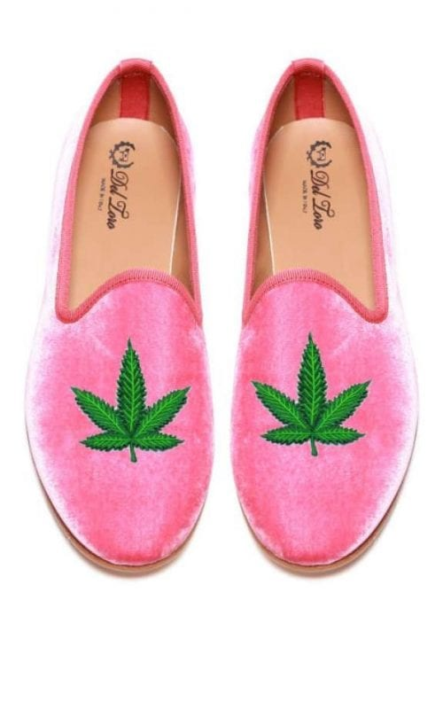 קנאביס אופנה: נעלי קנאביס