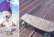 צעיר ישראלי יצר סקייטבורד מהמפ